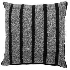 Honshu Black Square Cushion