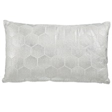 Loa Silver Rectangular Cushion