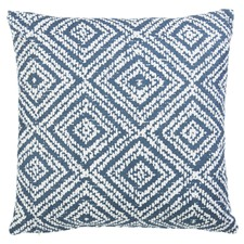Pablo Dark Blue Square Cushion