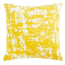 Falco Yellow Square Cushion