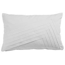 Akiko White Rectangular Cushion