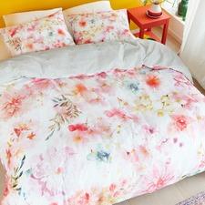 Pastel Plaisir Cotton Sateen Quilt Cover Set