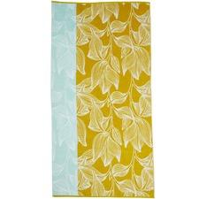 Yellow Mimosa Beach Towel