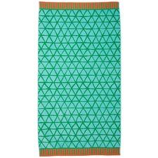 Green Flip Flop Beach Towel