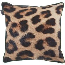 Leopard Print Kazbek Cushion