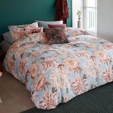 Flower Cotton Quilt Cover Set