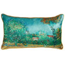 Blue Van Gogh Countryside Cushion