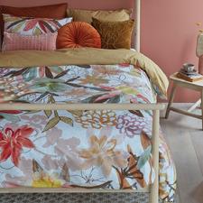 Multi-Colour Scarlett Cotton Quilt Cover Set