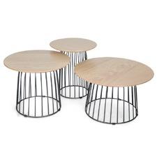 3 Piece Kindred Side Table Set