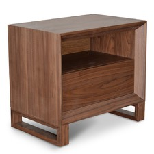 Duvan Oak Timber Bedside Table