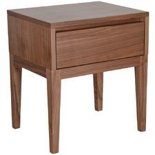 Naga Oak Wood Bedside Table