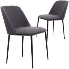 Reegan Fabric Dining Chairs (Set of 2)