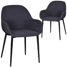 Cobie Fabric Dining Chairs (Set of 2)