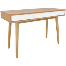 Louie Scandinavian-Style Narrow Wood Console Table