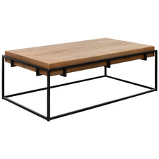 Natural Armand Reclaimed Pine Wood Coffee Table