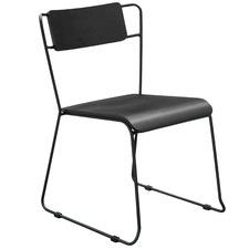 Black Serena Dining Chair