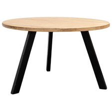 Natural Armand Reclaimed Elm Wood Dining Table