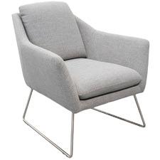 Light Grey Valter Lounge Chair