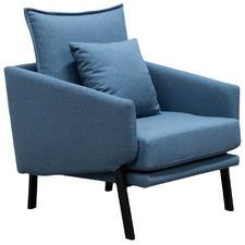 Blue Pietro Armchair
