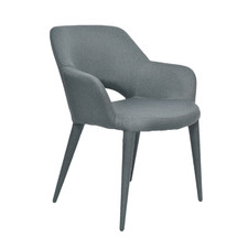 Hermano Upholstered Dining Chair with Arms