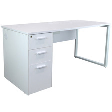 White Pori Office Desk