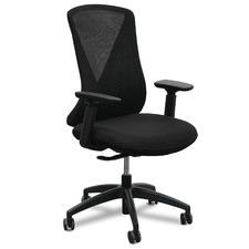 Black Konarske V-Back Mesh Office Chair