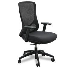 Black Konarske Open Back Mesh Office Chair