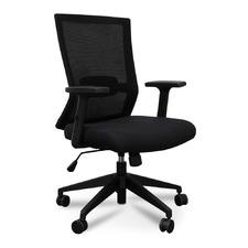 Black Sevinc Mesh Boardroom Office Chair