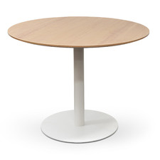 Natural Lupe Round Meeting Table
