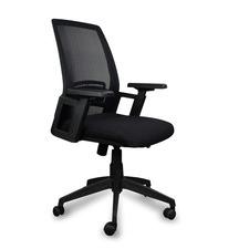 Black Parker Mesh Boardroom Office Chair