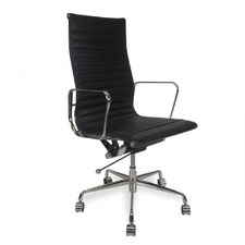 Hochmair High-Back Italian Leather Office Chair