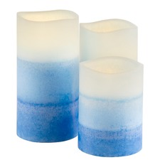 LED Ocean Spray Candles with Remote
