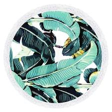 Palms Round Towel