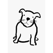 Pug Puppy Wall Art