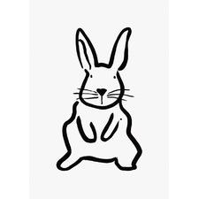 Baby Bunny Wall Art