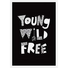 Young Wild Free Wall Art