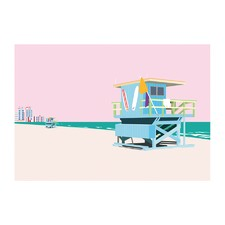 Miami Beach Modern Printed Wall Art