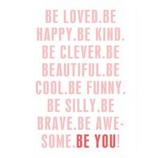 Be You Girl's Print