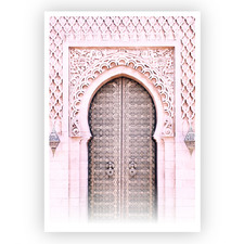 Moroccan Style Unframed Paper Print
