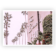 The Beverly Hills Hotel Unframed Paper Print