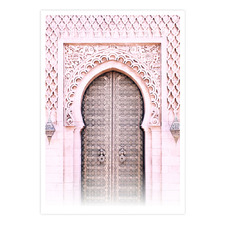 Moroccan Style Printed Wall Art