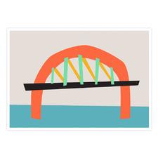 The Bridge Printed Wall Art