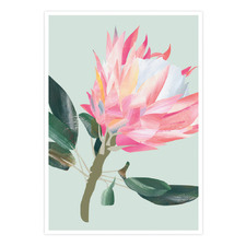 King Protea Printed Wall Art