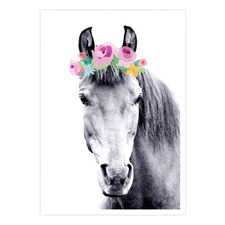 Rosie Pony Printed Wall Art