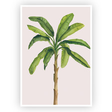 Banana Palm Printed Wall Art
