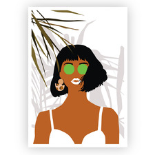 Summer Lovin Printed Wall Art