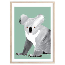 Little Koala Printed  Wall Art