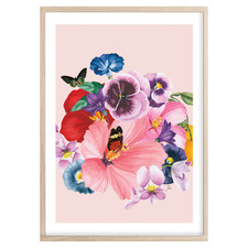 Garden Delights Printed Wall Art