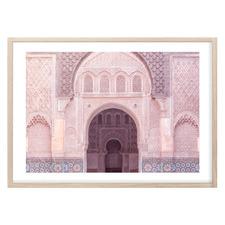 Pink Palace Printed Wall Art