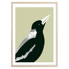 Mighty Magpie Printed Wall Art